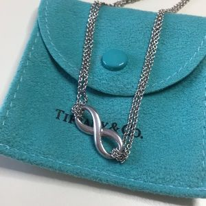 Tiffany & Co, infinity pendant.